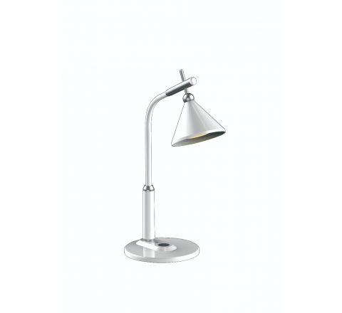 Vintage LED desk lamp with adjustable 3 colour temperature and 3 grades dimming, flicker free,  eye-caring light and high brightness SMD lighting.White