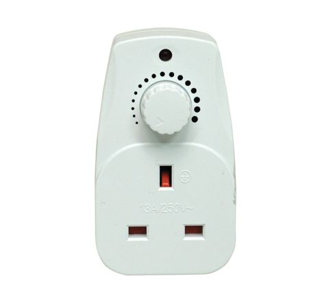 Eagle 13A Plug In Dimmer (Colour White)