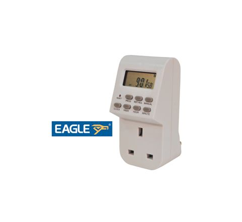 Eagle 13A Plug-In Weekly Digital Programmable Timer