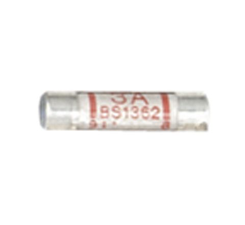 Domestic Mains Fuses Pack of 10 (Rating (A) 3)