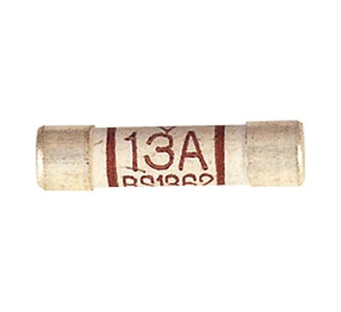 Domestic Mains Fuses Pack of 10 (Rating (A) 13)