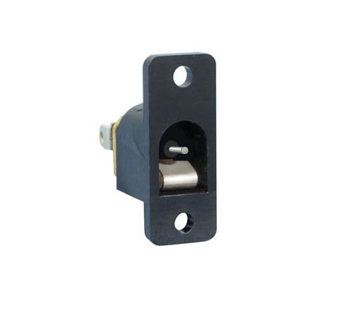 Plastic DC Power Chassis Socket (Centre Hole 2.1mm)