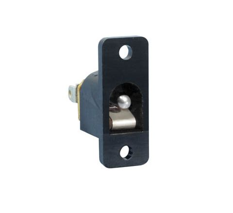 Plastic DC Power Chassis Socket (Centre Hole 3.1mm)