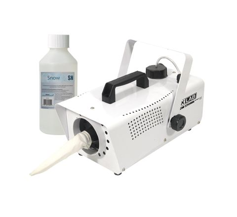 FXLAB Snow Storm II Artificial Snow Effects Machine and 1 Bottle of Venu 250ml Concentrated Snow Fluid FL710