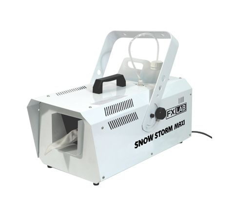 FX Lab 1200W Snow Machine with Wireless and Wired Remote