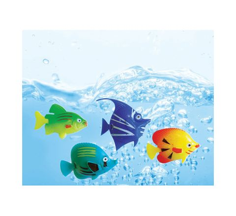 Cheetah Pack of 4 Replacement Artificial Fish
