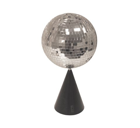FXLAB 6 Inch Free Standing or Ceiling Mounted Mirror Ball Kit