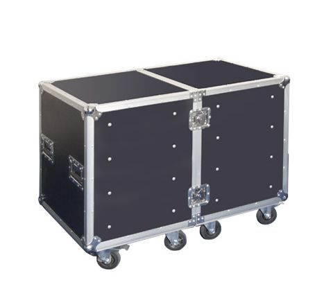 Semi Flight Tool Case on Wheels with 8 Pull-out Drawers