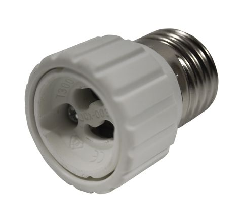 Electrovision Lampholder Adaptor (Converts From/To E27 / GU10 Diameter (mm) 35)