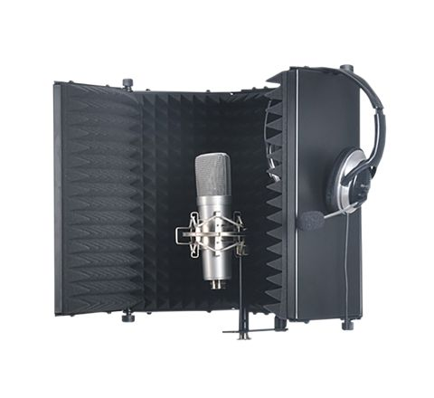 SoundLab Studio Microphone Reflexion Screen
