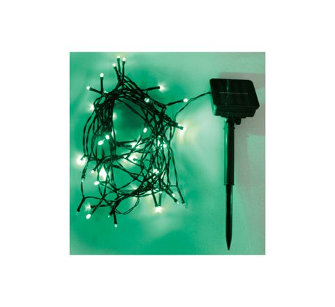 Eagle LED Solar Powered Outdoor String Lights 200 LED's 20m Length (Colour Green)