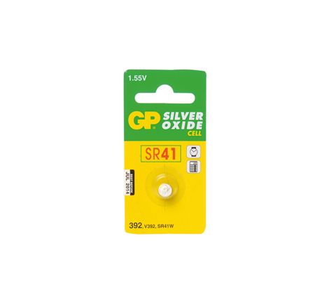 GP Silver Oxide Button Cell Blister of 1 (Type 392-A1)