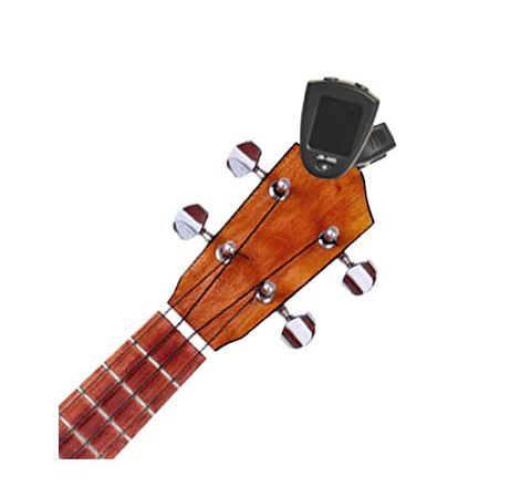 Ukulele Clip-On Tuner