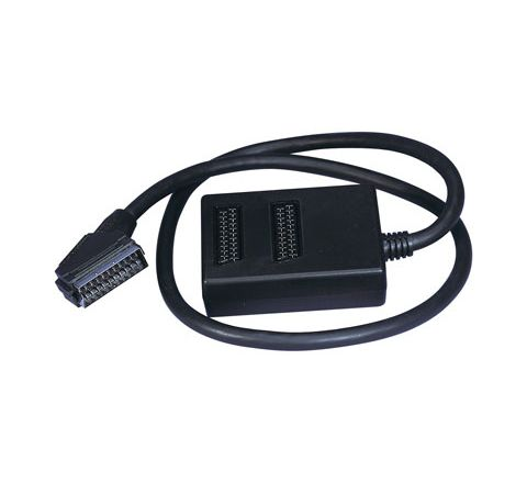 Scart Input Expander (Number of Scart Sockets 2 Packing Blister)