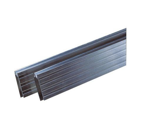 Aluminium Extrusion for Case Edging, Priced Per Metre (Material Thickness (mm) 7.5)