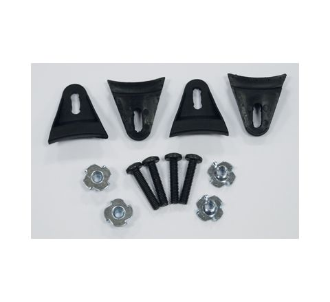 Plastic Speaker Grill Clamps Kit  With Fixings  Set of 4