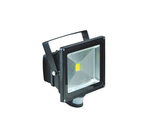 LED Flood Lights With PIR and PIR Override Facility (Lamp Type 30W LED Colour Black)