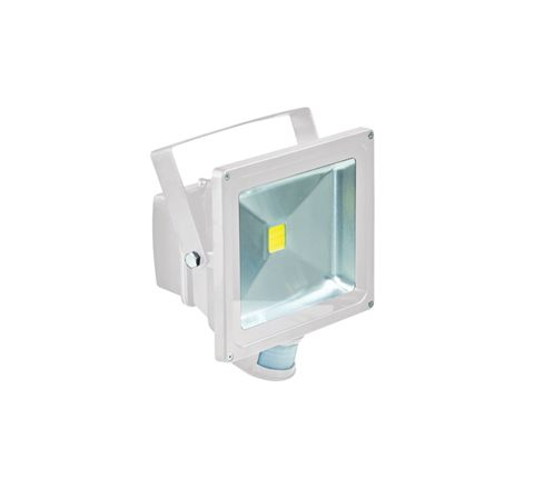 LED Flood Lights With PIR and PIR Override Facility (Lamp Type 30W LED Colour White)