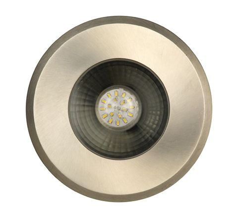 Luxform Lighting Darwin Deck Light in Stainless Steel