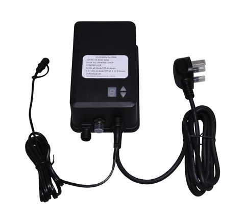 Luxform Lighting 60W Transformer with Timer