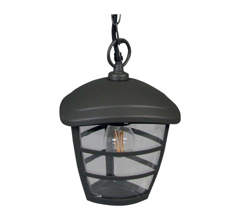 Luxform Lighting 230v Brussells Hanging Chain Light in Anthracite
