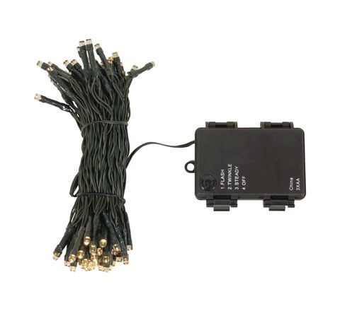 Luxform Lighting Battery Operated String Lights - 50 LED's