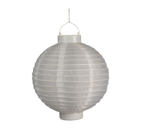 Luxform Lighting Solar Chinese Style Lantern in White