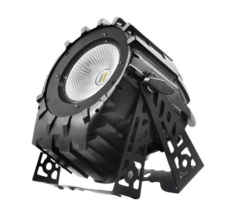 Flash LED PAR 64 250W 5 in 1 COB Variable White & Barndoor