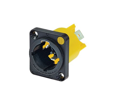 Neutrik NAC3PMX 16A Male Powercon True Chassis Connector with Twist Lock System