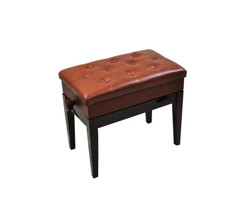 Luxury Adjustable Piano Bench with Storage Compartment (Colour Rosewood)