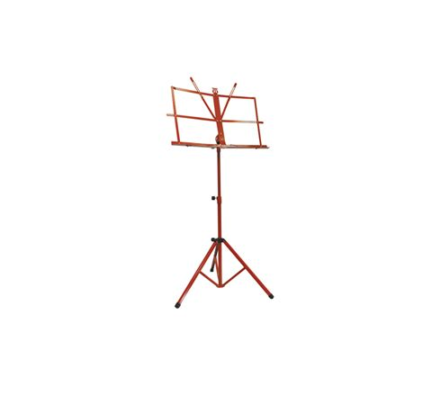 Folding Sheet Music Stand (Colour Red)