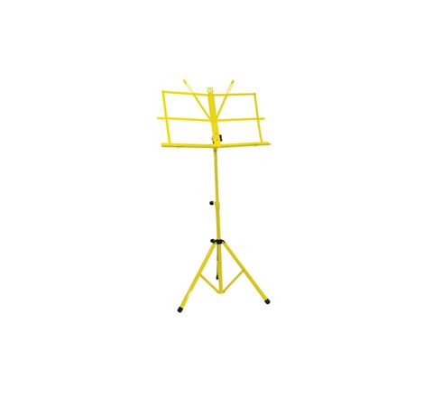 Folding Sheet Music Stand (Colour Yellow)