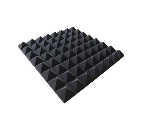New Jersey Sound Acoustic Foam Tiles (Style Pyramid Colour Black)