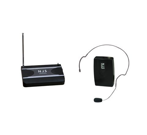 New Jersey Sound 174.5 MHz VHF Head Band Radio Microphone System