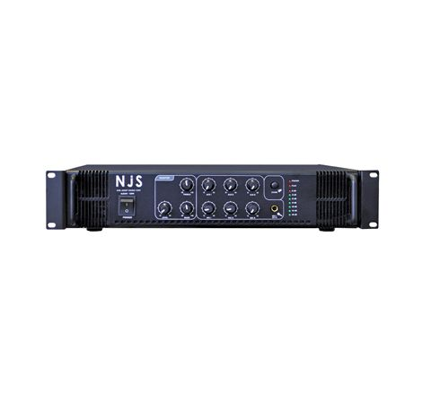 NJS PA2000 Series 100 V PA Mixer Amplifier (Power RMS (W) 120 Plug Type UK)