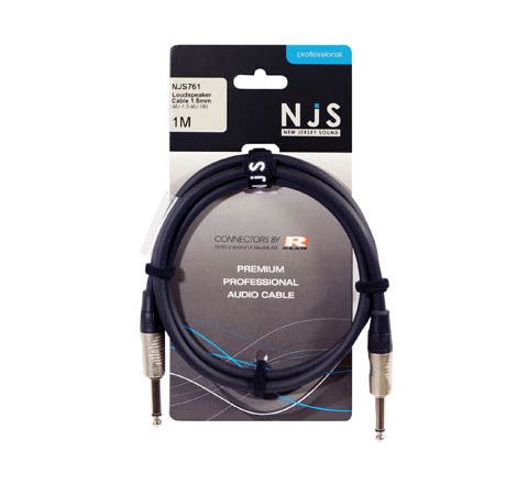 Mono Jack to Mono Jack 1.5mm Speaker Cable (Length (m) 1)