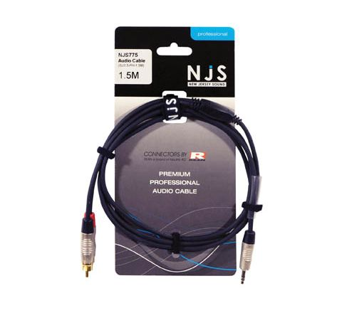 3.5mm Stereo Plug to 2 x RCA Phono Plugs Signal Cable (Lead Length (m) 1.5)