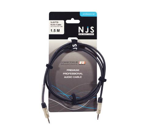 3.5mm Stereo Plug to 3.5mm Stereo Plug Signal Cable (Lead Length (m) 1.5)