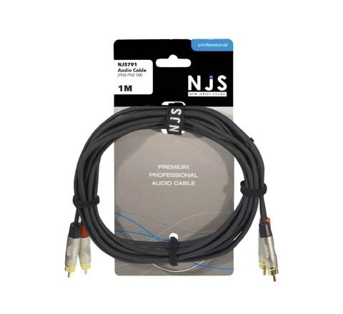 2x RCA Phono to 2x RCA Phono Plug Signal Cable (Lead Length (m) 1)