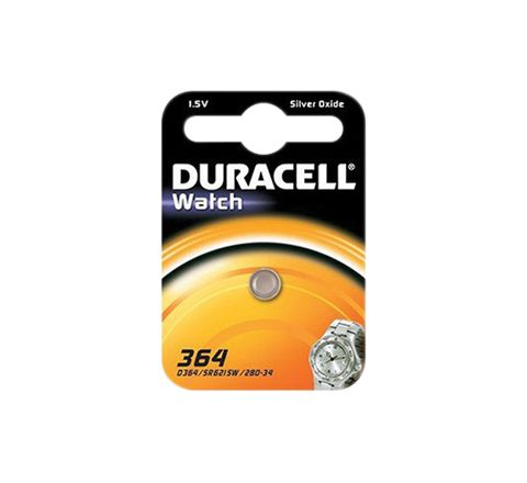 Duracell Silver Oxide Button Cell (Type 364/363)