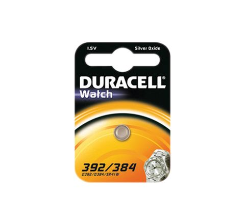 Duracell Silver Oxide Button Cell (Type 392/384)