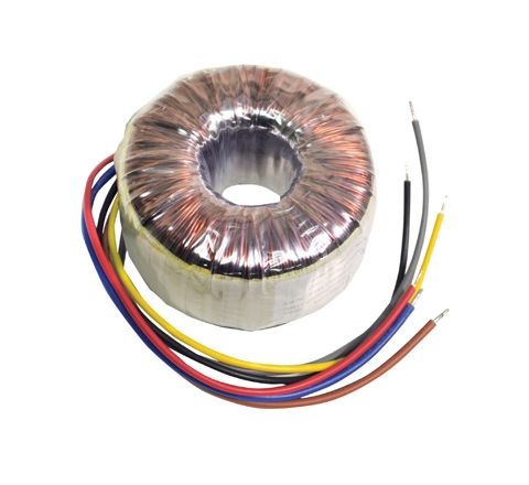 High Quality Toroidal Transformer (Outputs (V ac) 0-12, 0-12 Power (W) 225)