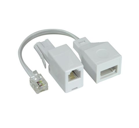 US to UK & UK to US Adaptor Twin Pack