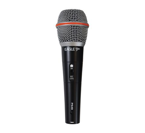 Eagle Dynamic Handheld Microphone 600 Ohm with 5m lead (Colour Black)