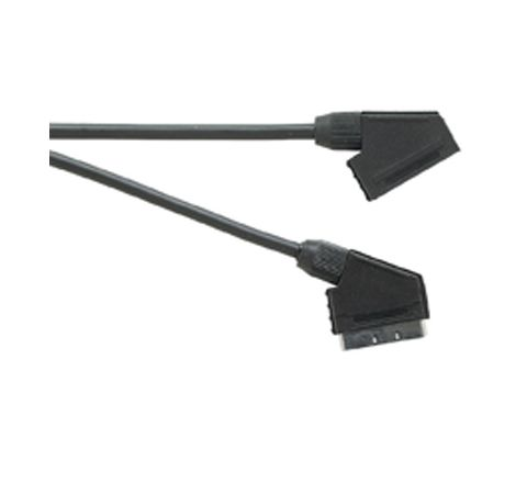 Standard Scart Plug to Scart Socket TV and Video Lead All Pins Connected (Lead Length (m) 5)