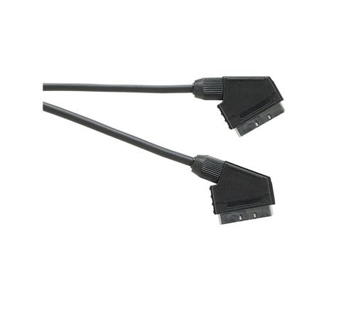 Standard Scart Plug to Scart Plug  TV and Video Lead All Pins Connected (Lead Length (m) 10)
