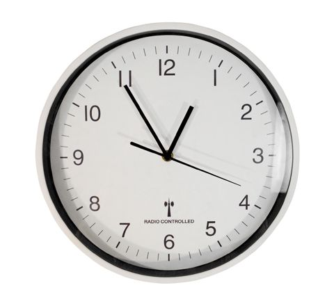 Wall Mounted 30cm Radio Controlled Clock