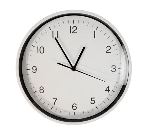 Wall Mounted 30cm Clock