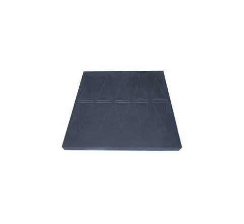 Easy Edge Threshold Rubber Ramp (Product Dimensions (mm) 60x760x750)