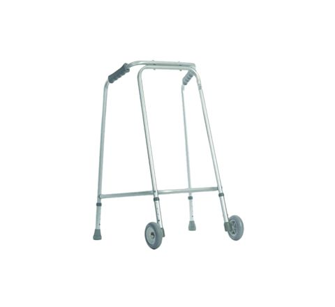 Lightweight Walking Frame for Home Use (Configuration With Wheels Size Standard Paediatric)